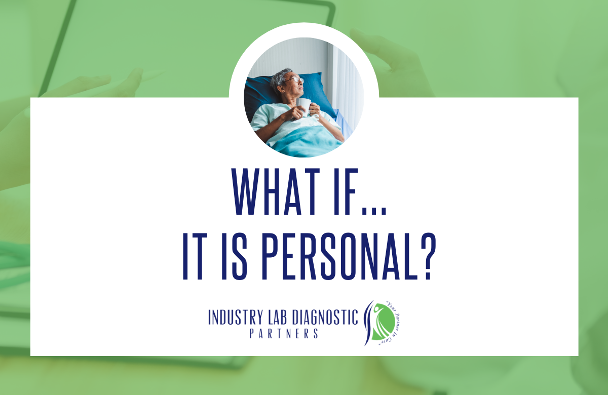 What if... it is Personal?