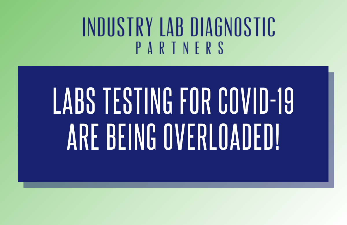 Labs Testing for COVID-19 are Being Overloaded!