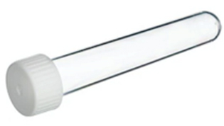 Collection Tube For dry nail clipping